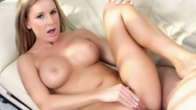 Big-boobed Blond Cougar Laura Monroe
