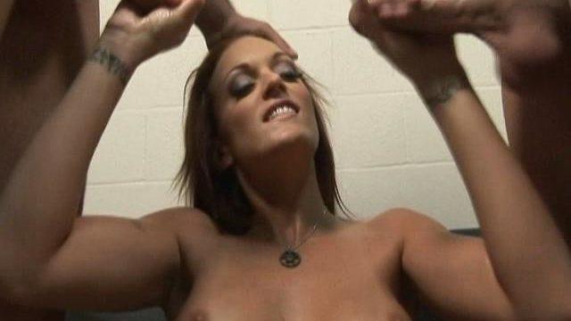 Monica Mayhem Strokes Off 2 Pricks Whilst Dressed In Best Her Milky Hooter-sling