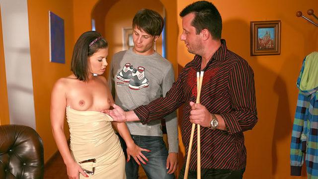Passionate Wifey Bangs Stranger