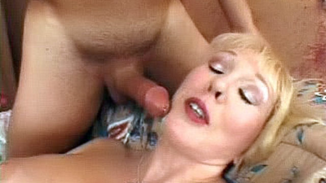 Huge-boobed Mature Wanks A Ginormous Boner