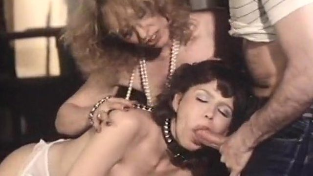 Desiree Cousteau In Antique Orgy Vid