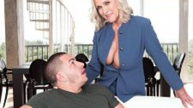 <b>big-boobed 60plus Realtor Katia Screws 23-year-old Customer</b>