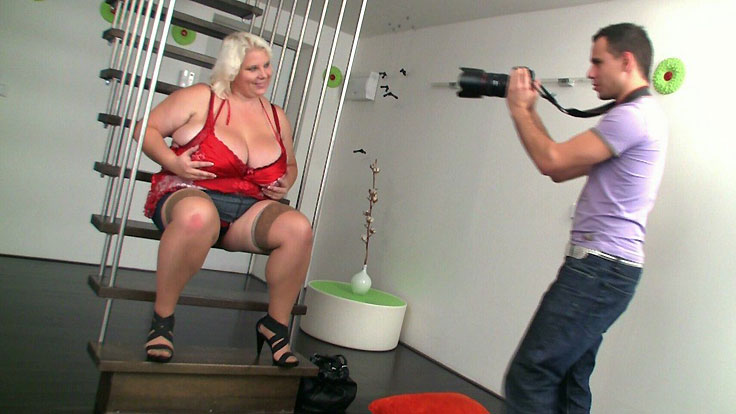 Camera Operator Likes Her Bbw Labia